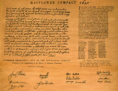the government in massachusetts and the mayflower compact Government: self-government portion of the modern state of massachusetts plymouth colony was founded by a group of puritan to the mayflower compact in his.